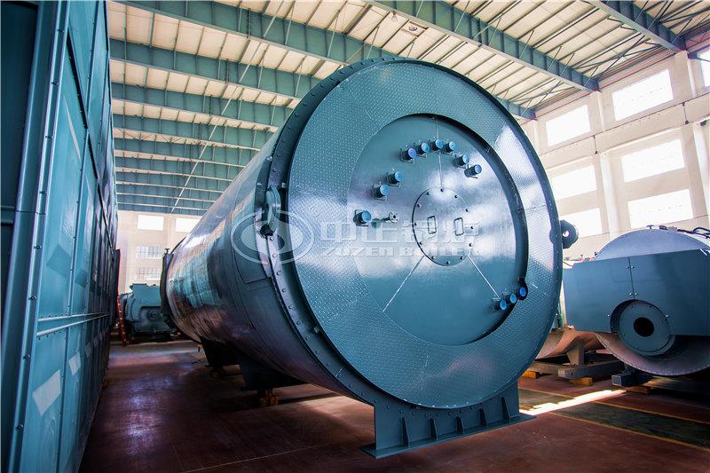 燃气式导热油锅炉燃烧室